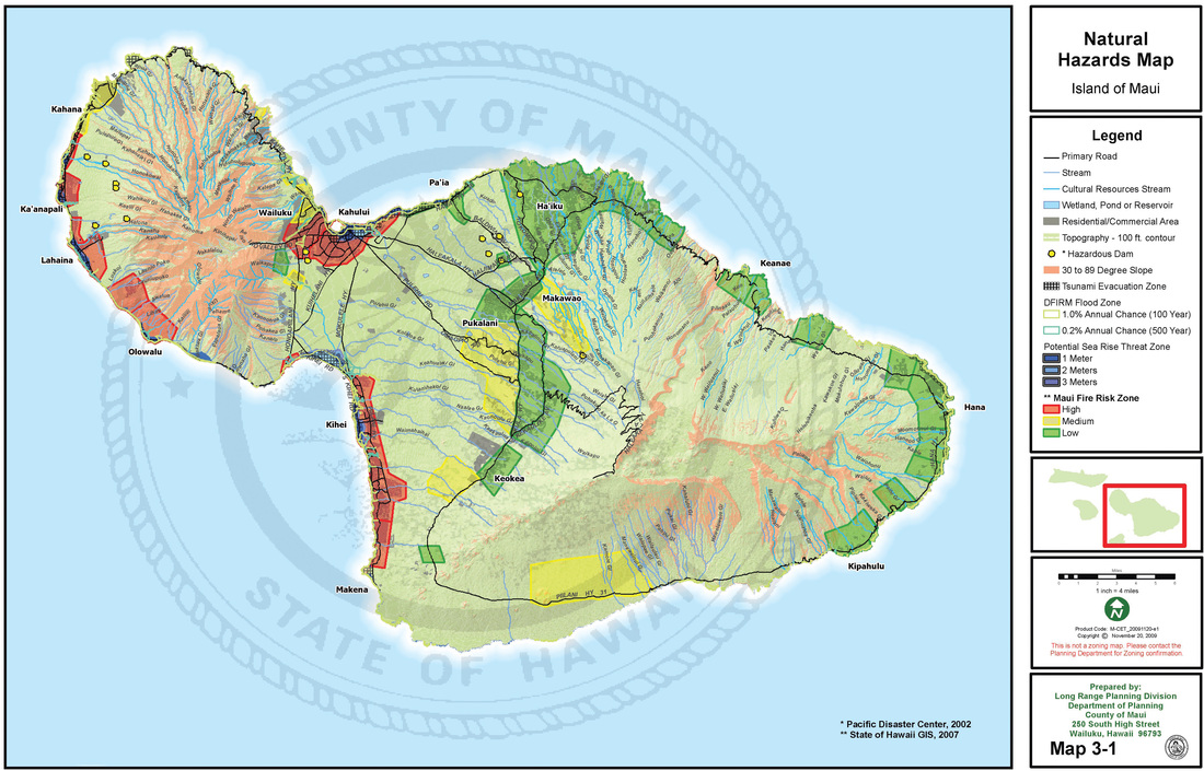 Maui's Natural Hazards