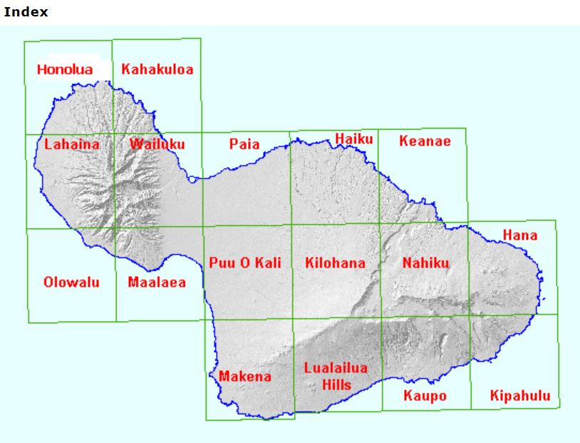 USGS Topographic Maps - Alliance of Maui Community Associations